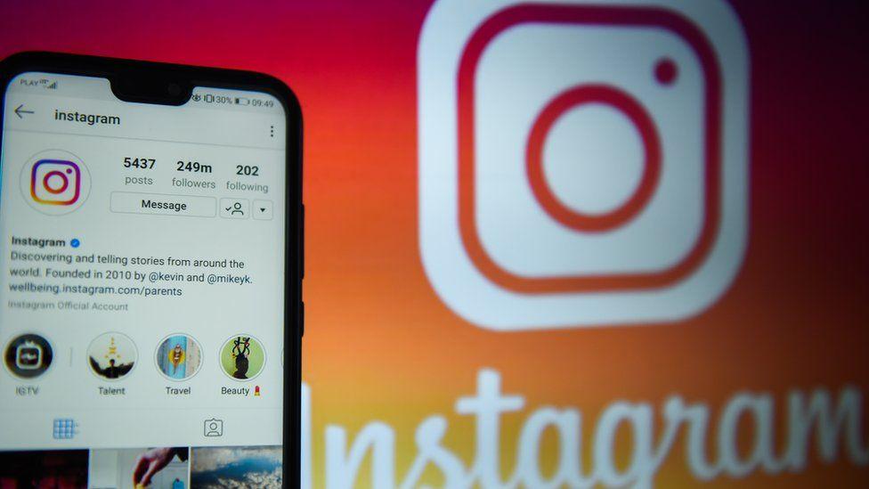 Social media site Instagram
