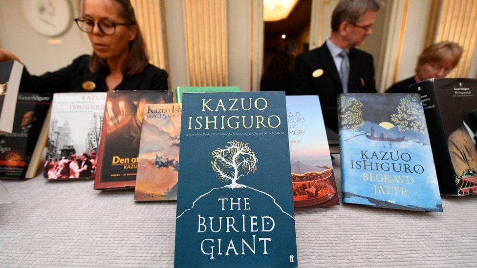 Kazuo Ishiguro's books
