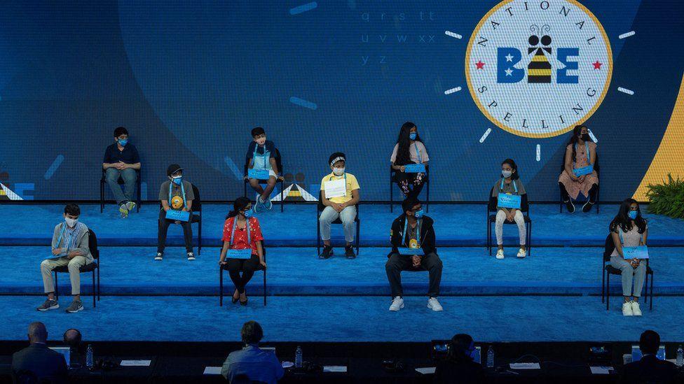 Scripps National Spelling Bee in Orlando, Florida, 2021