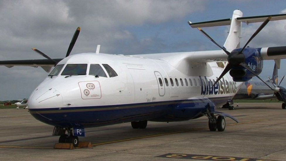 Blue Islands plane