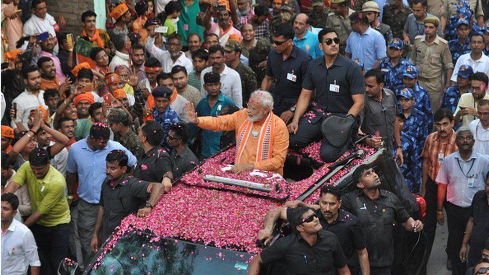 PM Modi in Varanasi in 2019