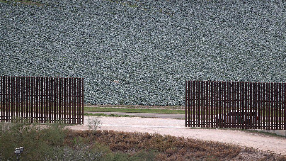 Border wall McAllen