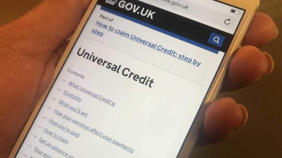The government universal credit website
