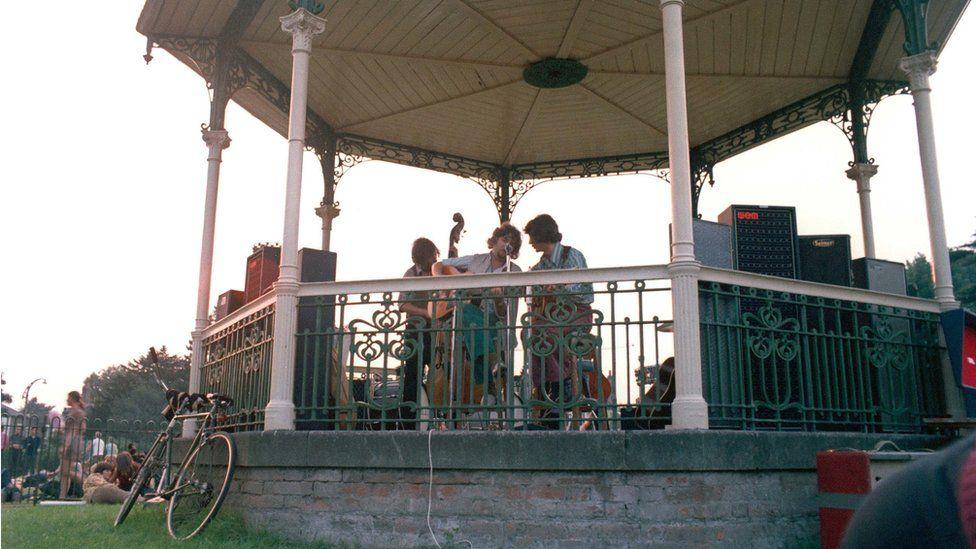 Beckenham bandstand in 1969
