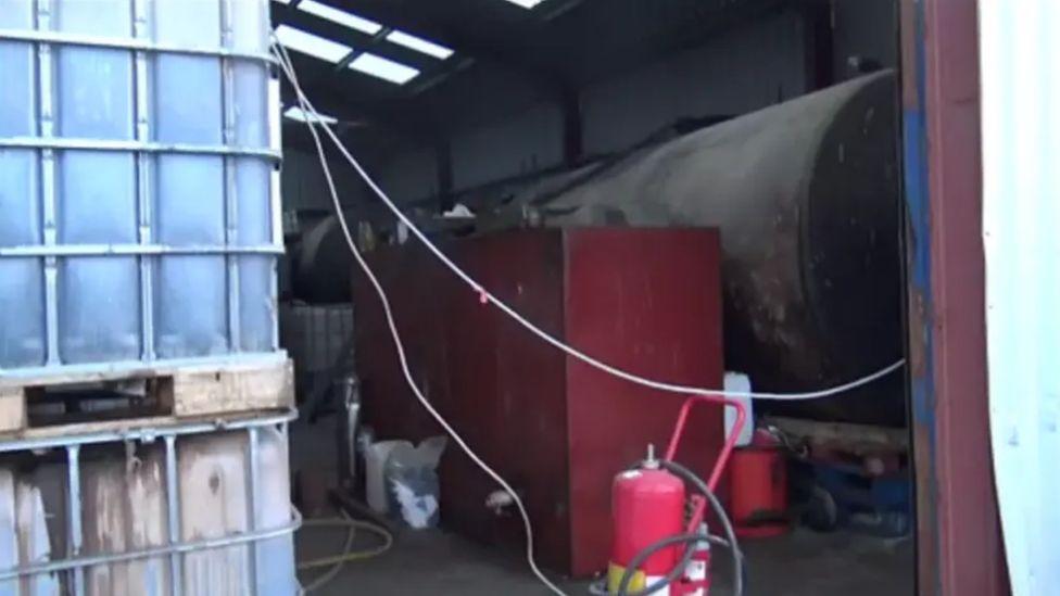 45,000 litres of suspected illicit fuel was seized