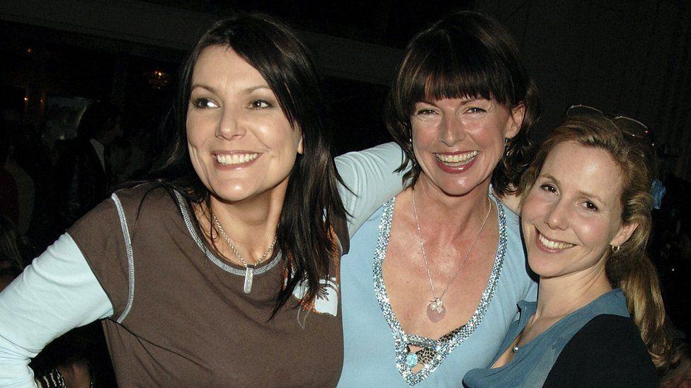 Fiona Allen, Doon Mackichan and Sally Phillips