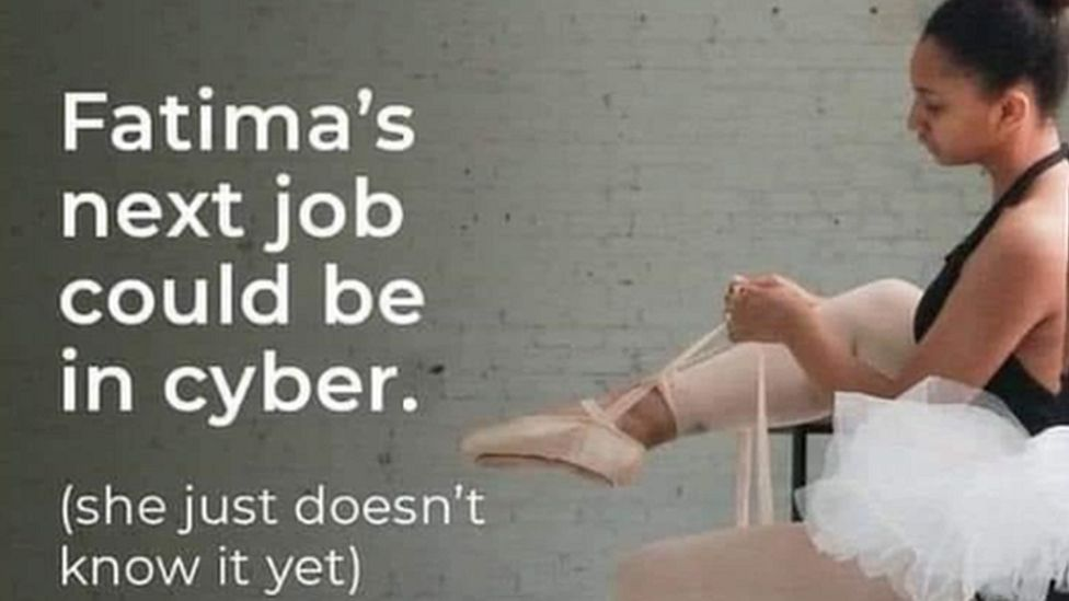 Cyber First/UK Government advert