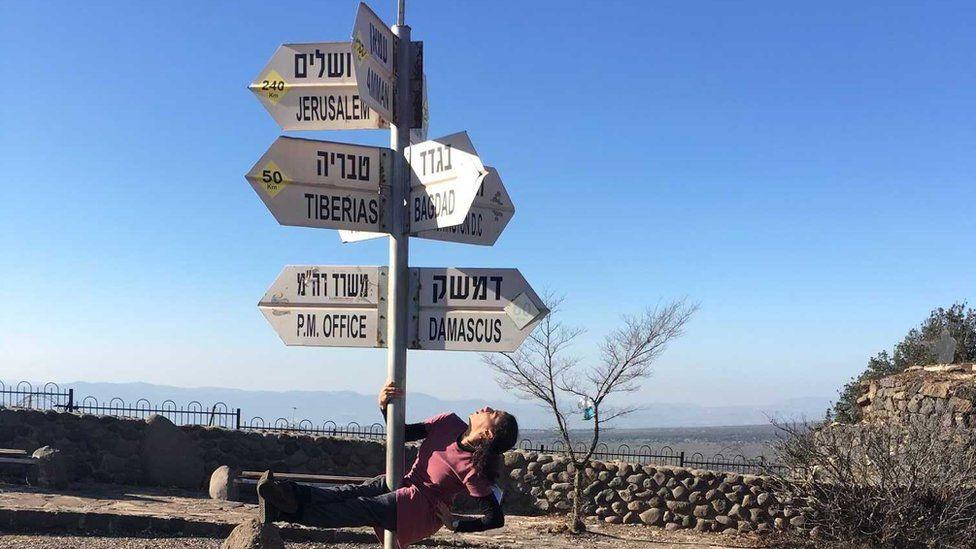 Eliana at Israeli-Jordan border