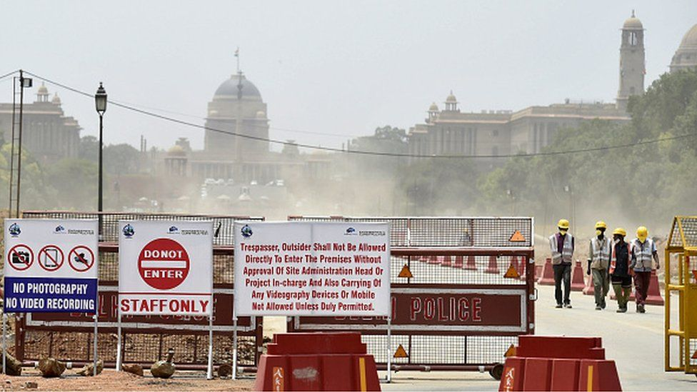 Rajpath has been closed to public