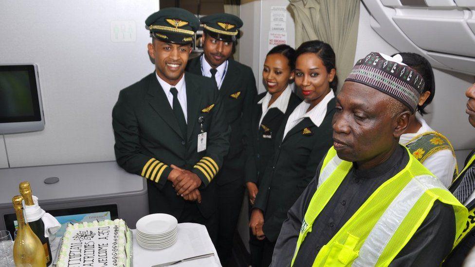 Crew of Ethiopia flight