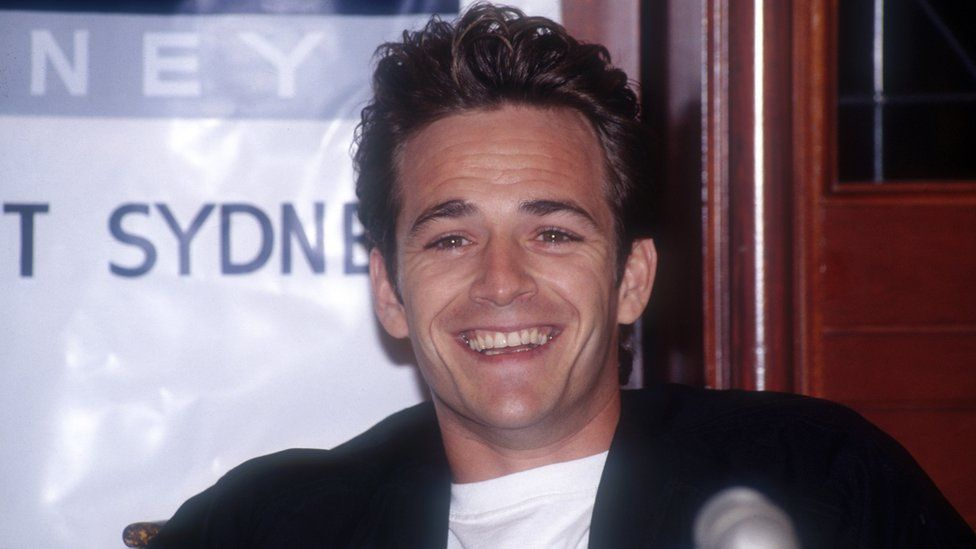 Perry pictured in the 1990s