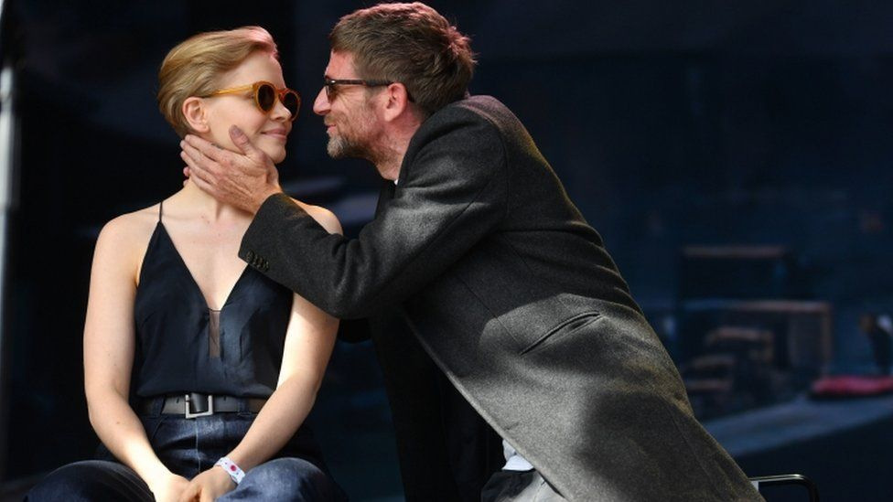 Actors Paul Anderson and Kate Phil