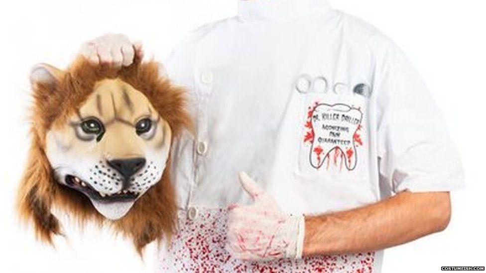 tiger dentist costume
