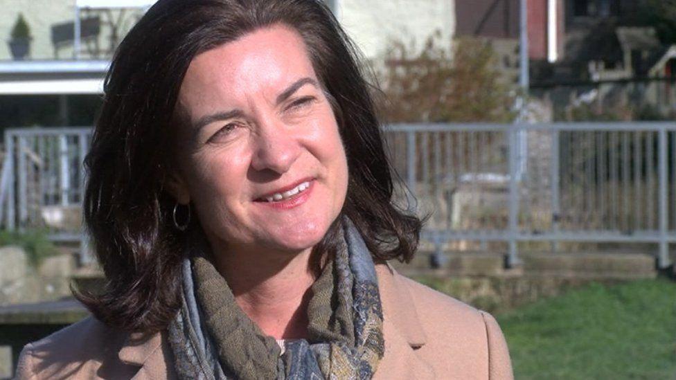 Welsh Health Minister Eluned Morgan