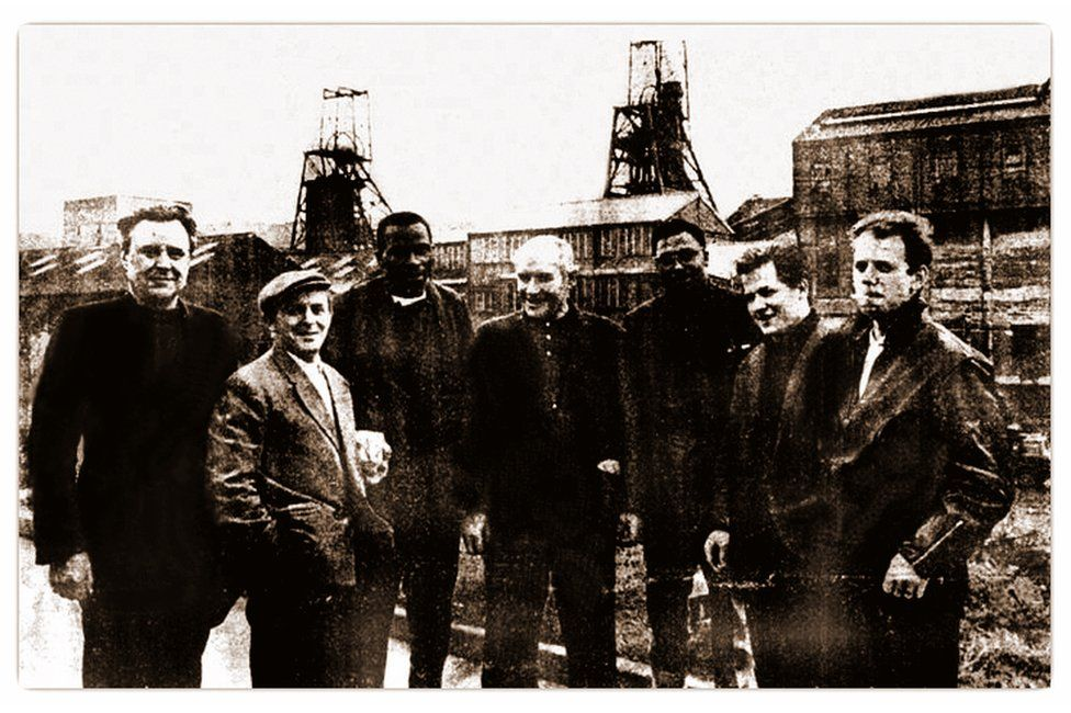 Miners at Gedling