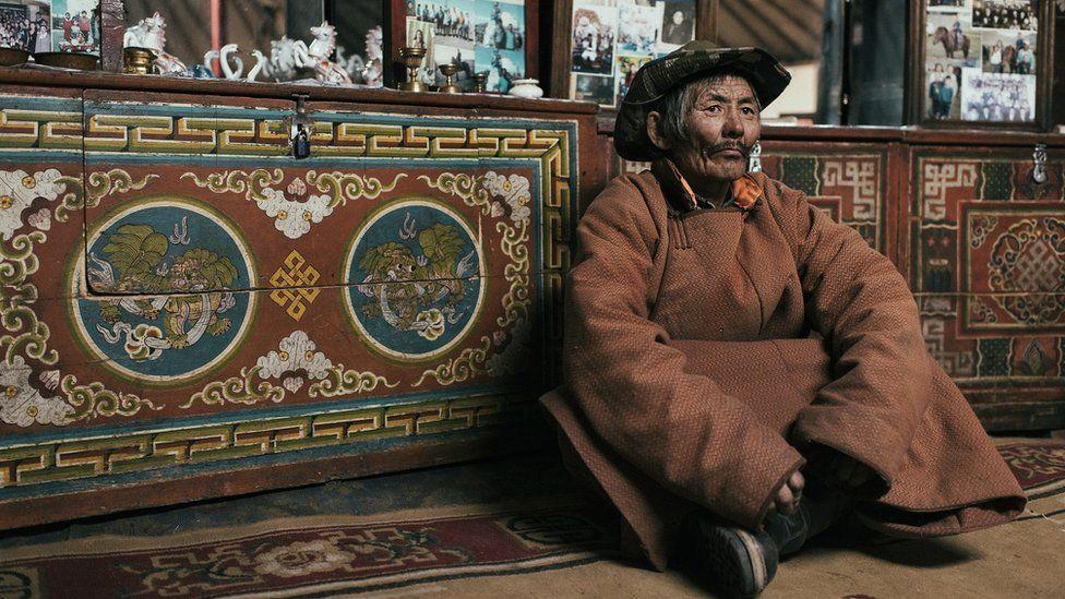 Khurelbaatar Tovuu, 57, lost all his animals during the 2010 devastating dzud.