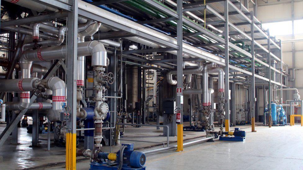 GF Biochemical's plant in Caserta