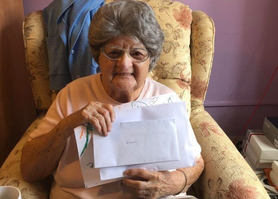 Ethel, resident at Fulford Care Home