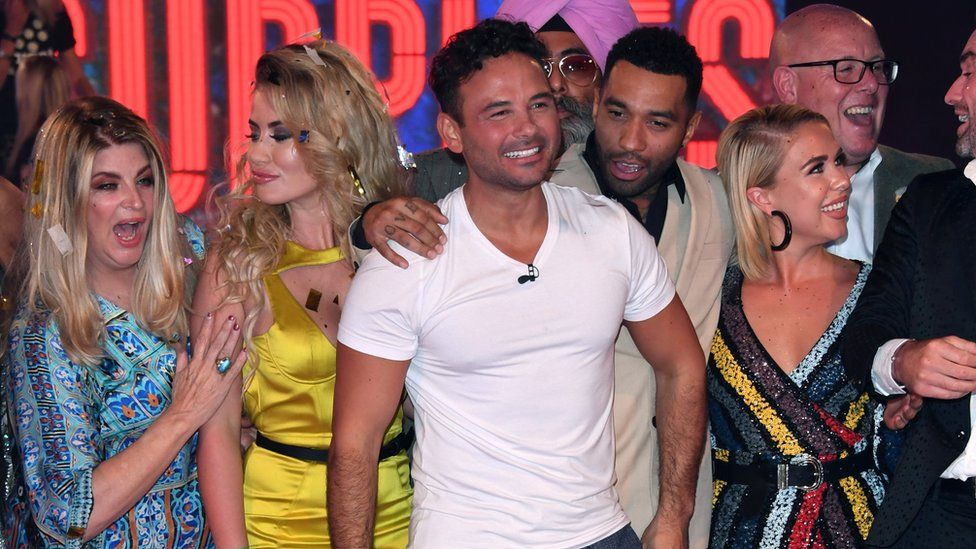 Ryan Thomas and other Celebrity Big Brother contestants