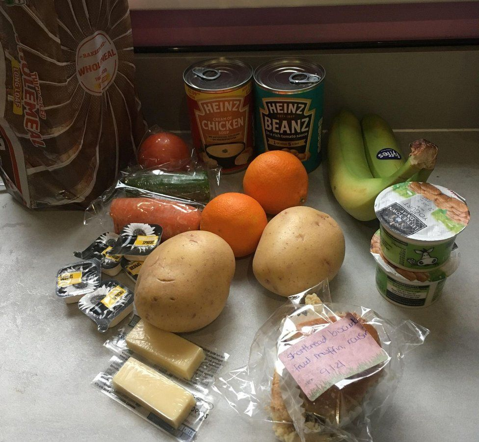 Official food parcel