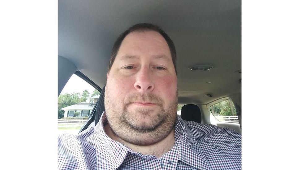 Brian selfie in car