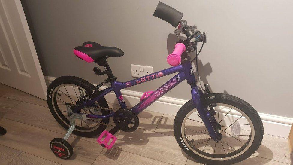 The adapted bike