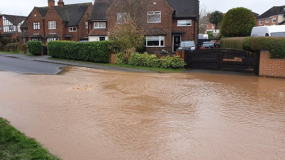 Flooding in Thoresby Dale