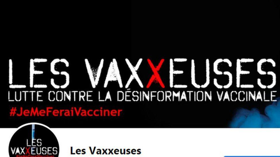 The Les Vaxxeuses Facebook profile