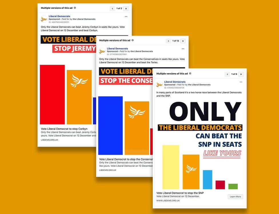 Liberal Democrats ads