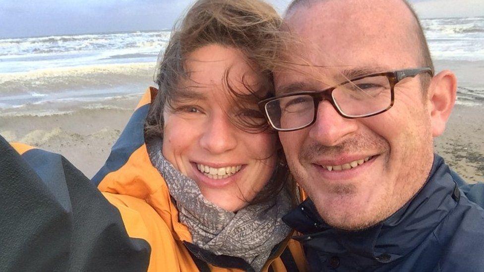Nadja Ensink-Teich and Jeroen Ensink