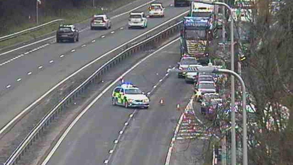 A470 accident