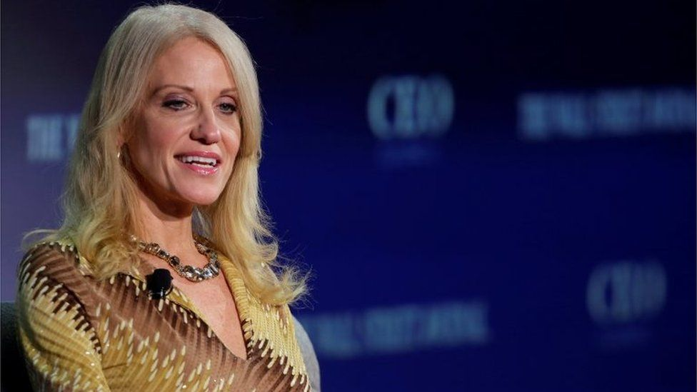 Kellyanne Conway, campaign manager and senior adviser to the Trump Presidential Transition Team.