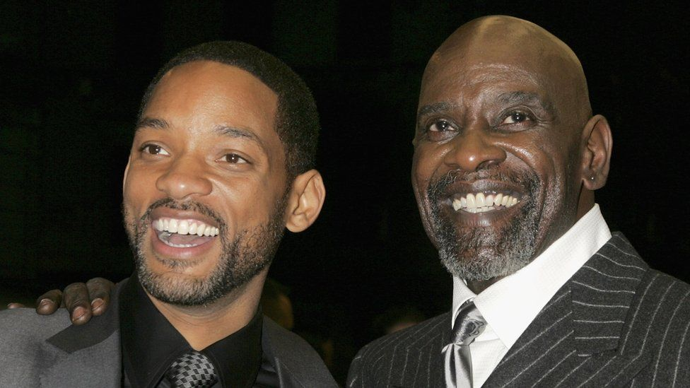 Will Smith and Chris Gardner