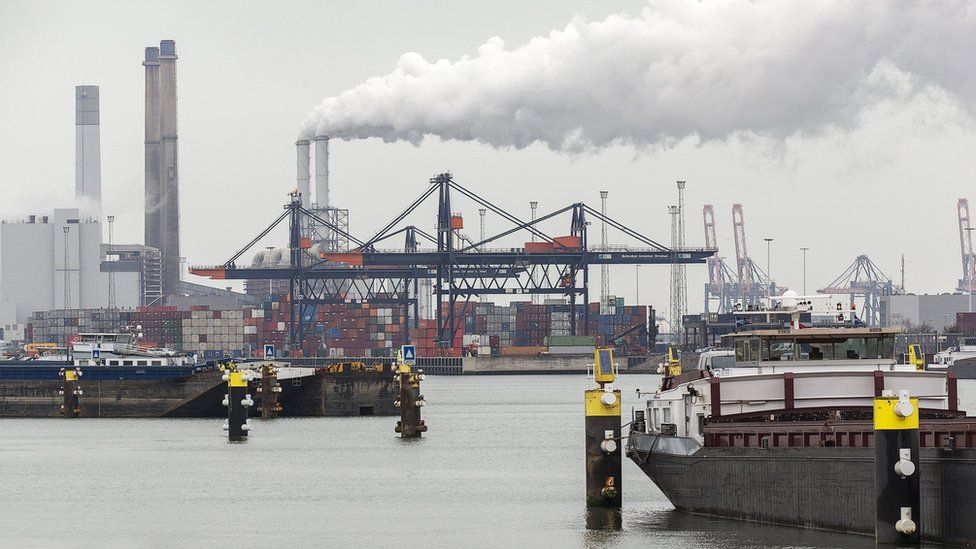 Port of Rotterdam, 21 Mar 16