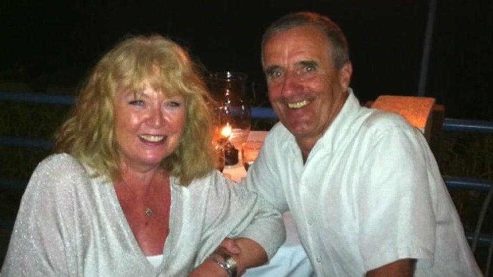John King and wife Elaine