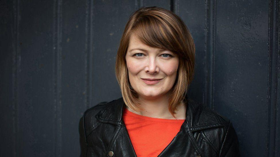 Author Kerry Hudson portrait