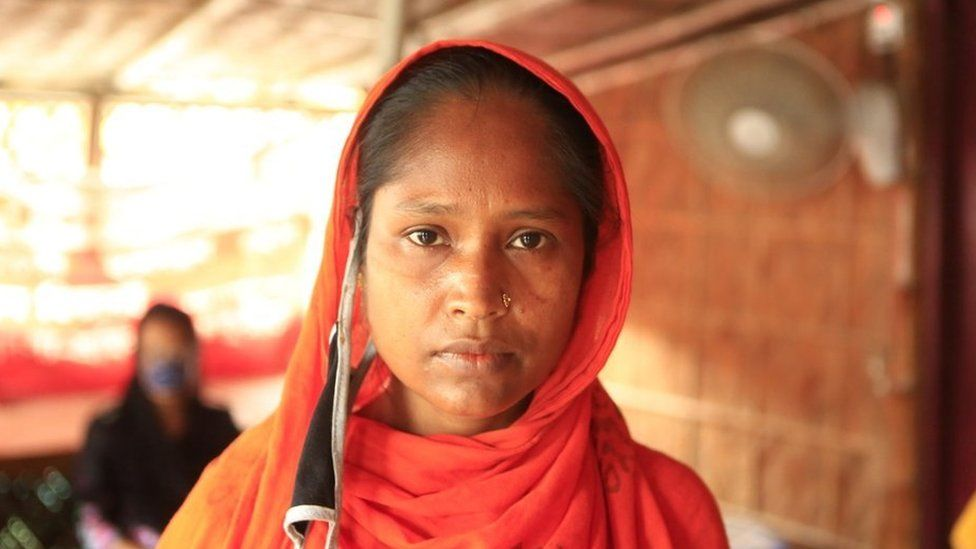 Anisa Begum, a laid off garment worker