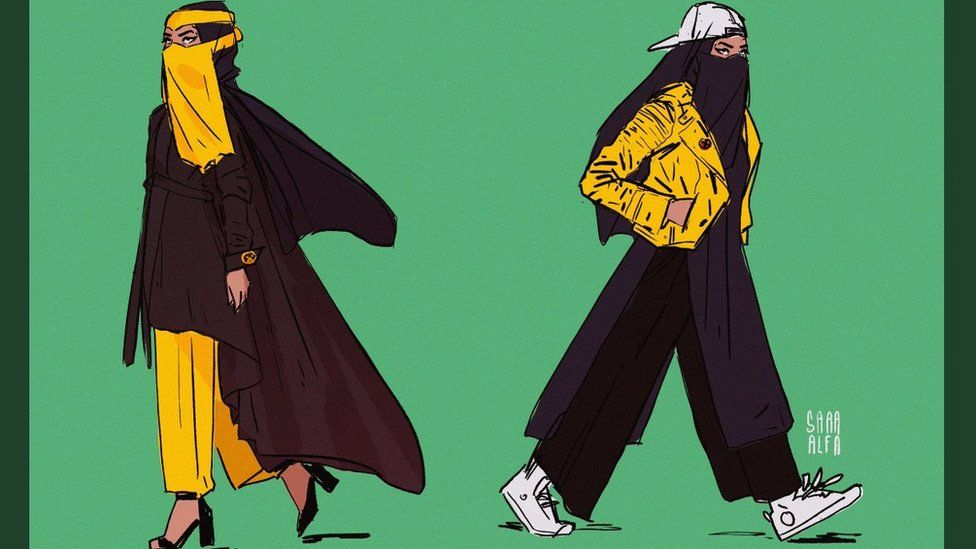 Sara Alfageeh's redesigns of X-Men character Dust