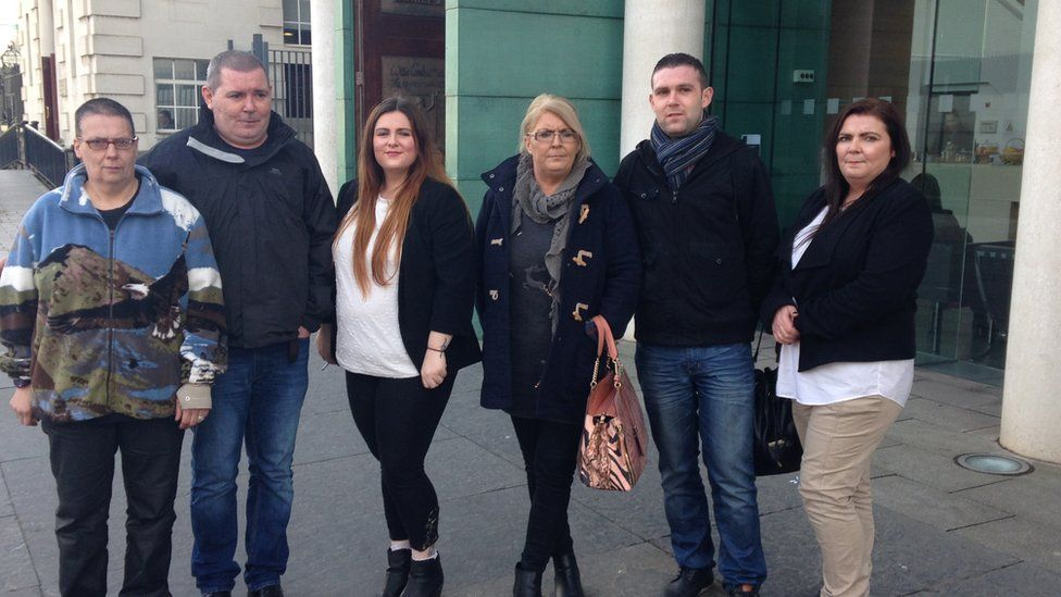 Members of Arlene Arkinson's family have been in attendance at the inquest
