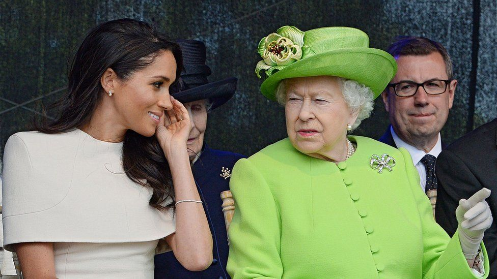 Meghan, Duchess of Sussex and the Queen