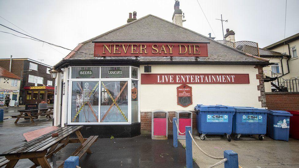 Never Say Die pub