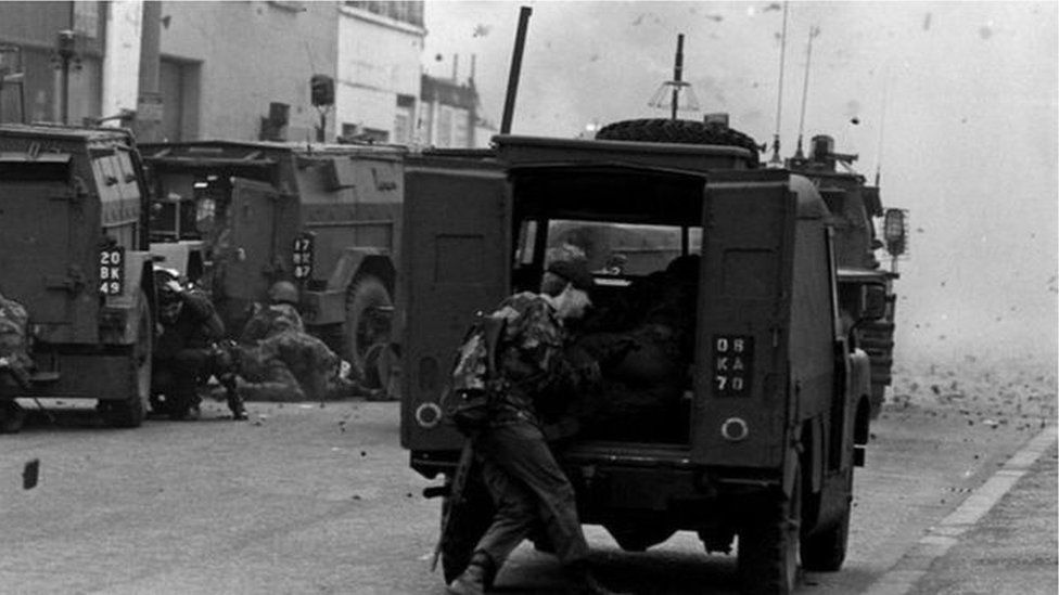Soldiers during Troubles