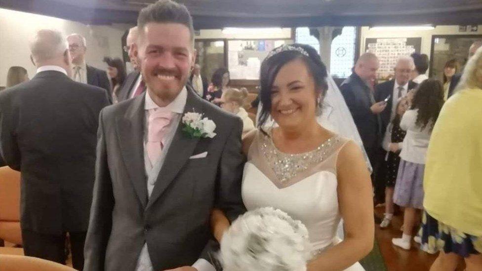 Stacey Matthews and husband Richard