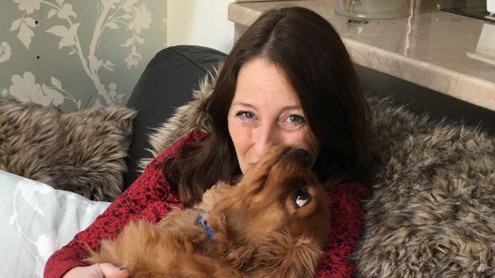 Joy and Carmen's Dog