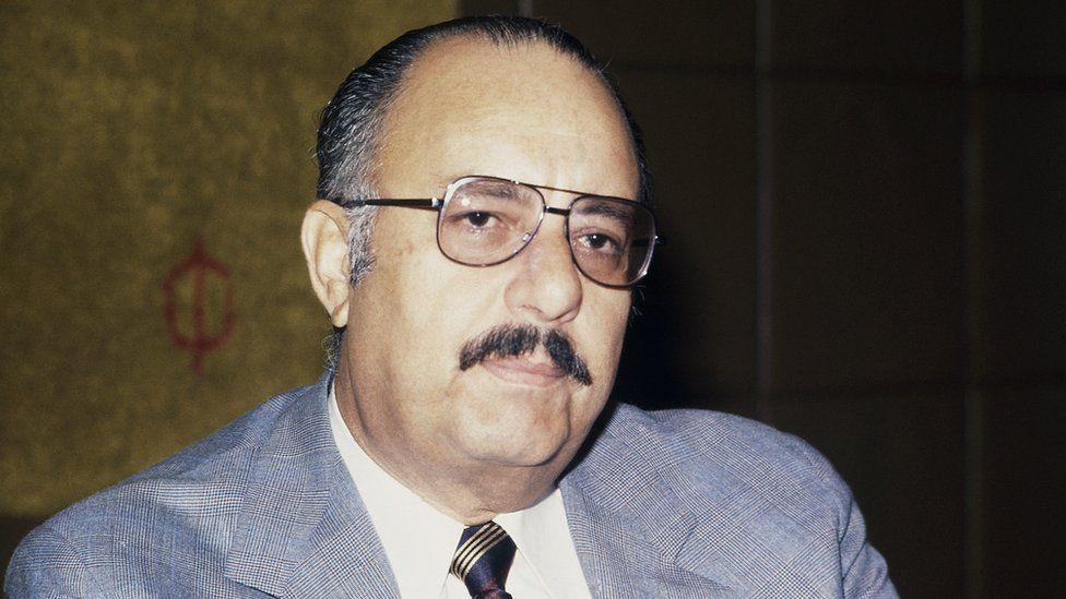 Nicaraguan former dictator Anastasio Somoza
