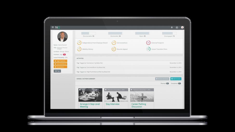 HiQ Labs screenshot