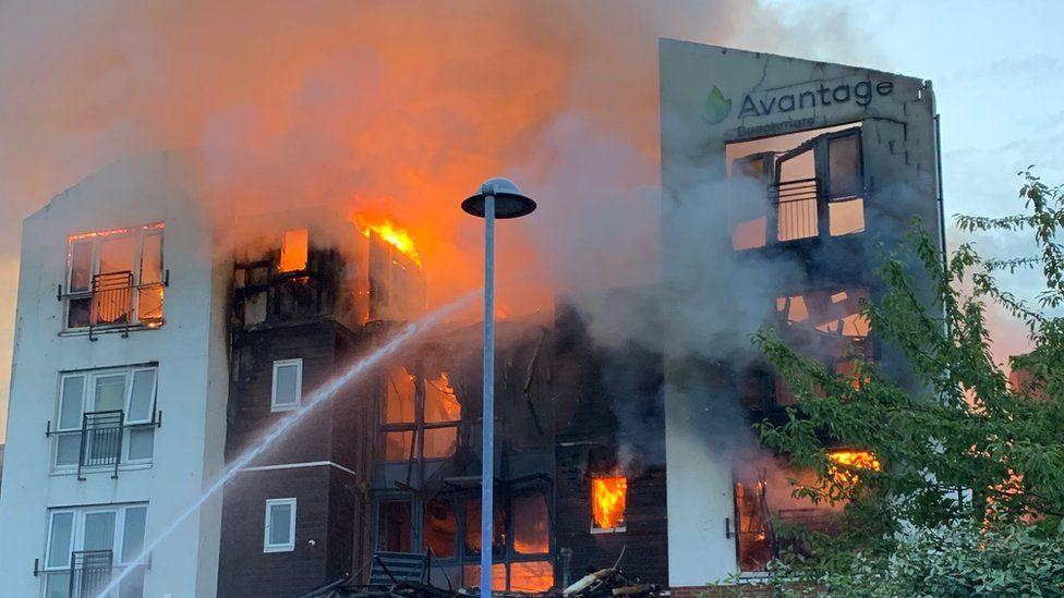 Crewe fire