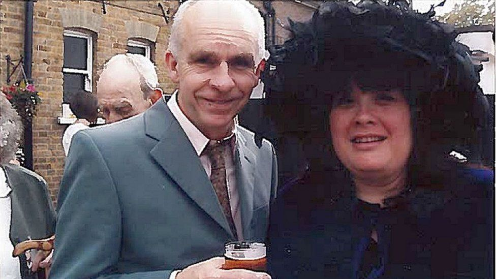 Andrew Lane and his wife Sue