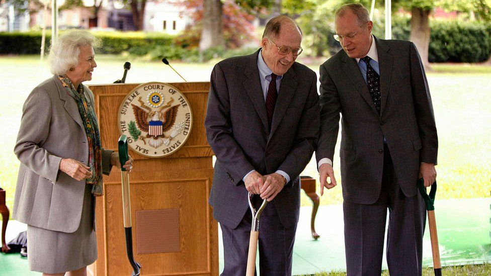 O'Connor and Rehnquist break ground for a Supreme Court expansion in 2003
