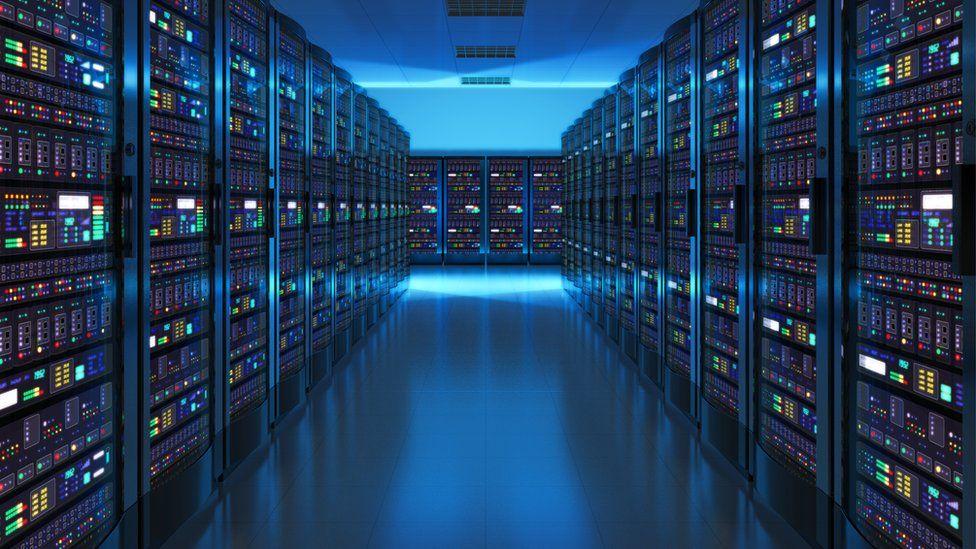 Data centre interior